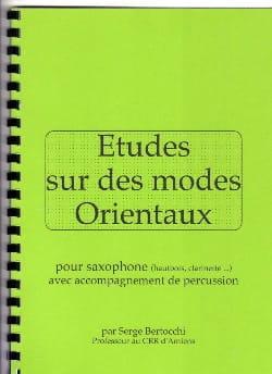 Serge Bertocchi - Studies on Oriental Modes - Sheet Music - di-arezzo.com