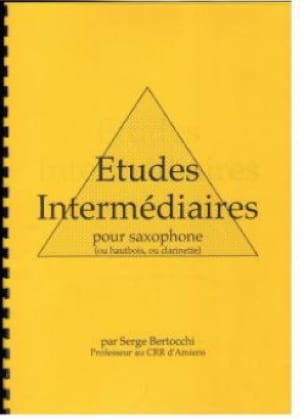 Serge Bertocchi - Intermediate studies - Sheet Music - di-arezzo.com