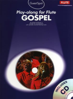 - Guest Spot - Gospel Play-Along For Flute - Partition - di-arezzo.fr