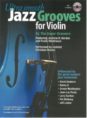 Ultra Smooth Jazz Grooves For Violin Partition Violon - laflutedepan