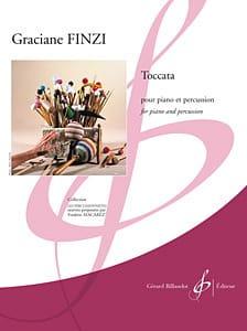 Toccata - Graciane Finzi - Partition - laflutedepan.com