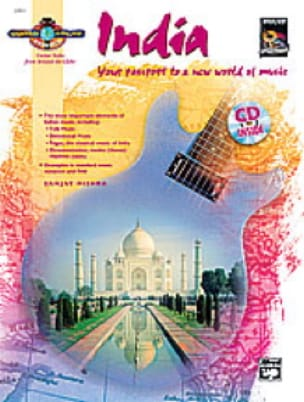 India - Guitar Atlas Sanjay Mishra Partition Guitare - laflutedepan