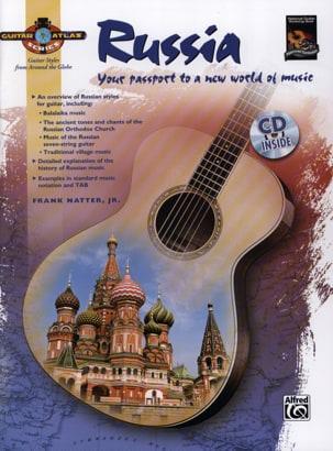 Frank, JR. Natter - Russia - Guitar Atlas - Partition - di-arezzo.fr