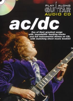 AC-DC - Play Along Guitar Audio CD - Sheet Music - di-arezzo.co.uk