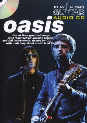 Oasis - Play Along Guitar Audio CD - Sheet Music - di-arezzo.com