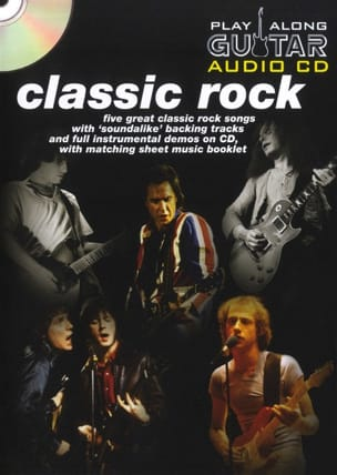 - Play Along Guitar Audio Cd - Classic Rock - Partition - di-arezzo.fr