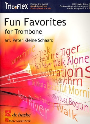 Fun Favorites - Trio Flex Partition Trombone - laflutedepan