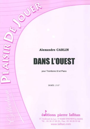 Alexandre Carlin - In the West - Sheet Music - di-arezzo.co.uk