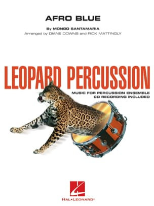 Afro Blue - Leopard Percussion Mongo Santamaria Partition laflutedepan