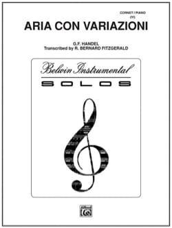 HAENDEL - Aria Con Variazioni - Sheet Music - di-arezzo.com