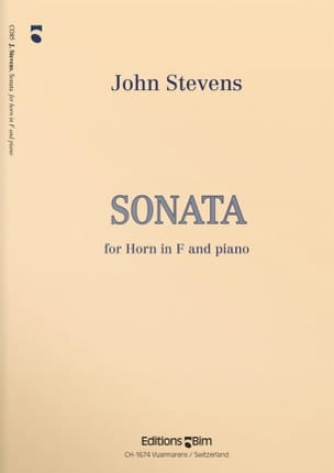 John Stevens - Sonata - Partition - di-arezzo.fr