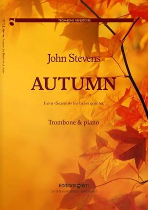 John Stevens - Autumn - Partition - di-arezzo.fr