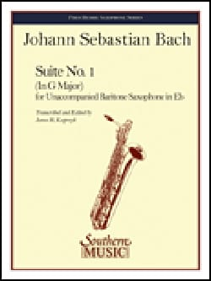 BACH - Suite N ° 1 - Partitura - di-arezzo.es