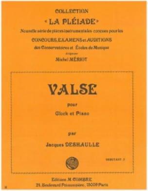 Valse - Jacques Deshaulle - Partition - Xylophone - laflutedepan.com