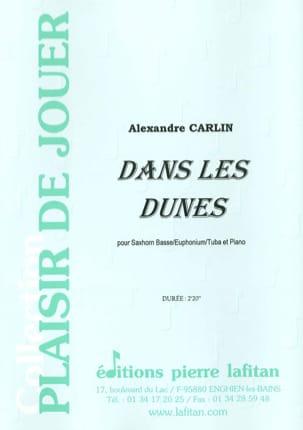 Alexandre Carlin - Dans les dunes - Partition - di-arezzo.fr