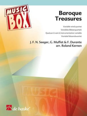 Baroque treasures - music box - Partition - laflutedepan.com