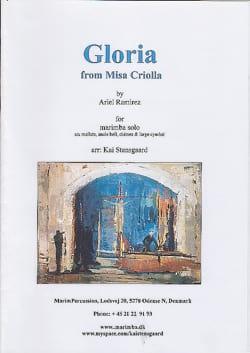 Gloria - Ariel Ramirez - Partition - Marimba - laflutedepan.com