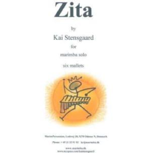 Kai Stensgaard - Zita - Partition - di-arezzo.fr