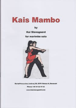 Kais Mambo Kai Stensgaard Partition Marimba - laflutedepan
