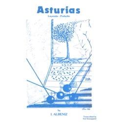 Asturias Isaac Albéniz Partition Marimba - laflutedepan