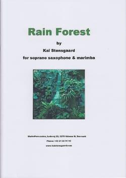 Rain Forest Kai Stensgaard Partition Marimba - laflutedepan