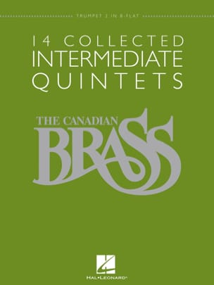 14 Collected Intermediate Quintets - Partition - laflutedepan.com