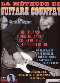 Séguret Christian / Rébillard Jean-Jacques - The country guitar method - Sheet Music - di-arezzo.com