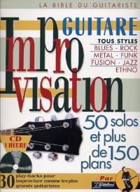 Jean-Jacques Rébillard - Improvisation guitare - Partition - di-arezzo.fr