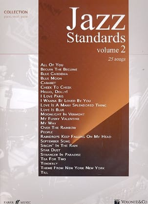 Jazz Standards Collection Volume 2 Partition Jazz - laflutedepan