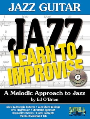 Jazz Guitar - Learn To Improvise - Brian Ed O' - laflutedepan.com