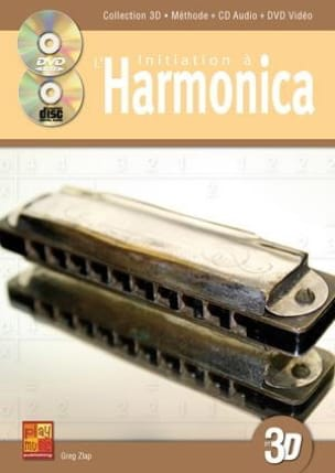 Greg Zlap - Initiation AL Harmonica In 3D - Sheet Music - di-arezzo.co.uk