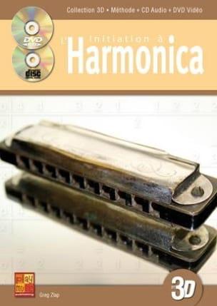 Greg Zlap - Initiation A L' Harmonica En 3D - Partition - di-arezzo.fr
