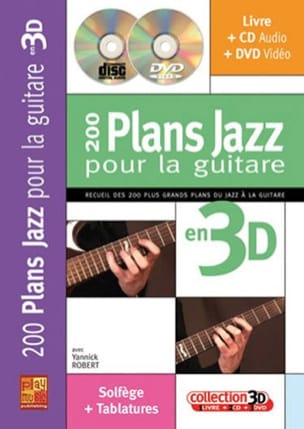 Yannick Robert - 200 Jazz Plans For Guitar In 3D - Sheet Music - di-arezzo.co.uk