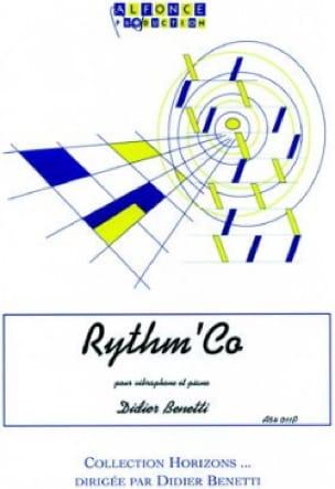 Didier Benetti - Rhythm 'Co - Sheet Music - di-arezzo.co.uk