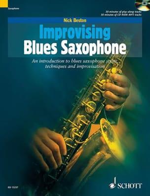Nick Beston - Improvisar el saxofón de blues - Partitura - di-arezzo.es