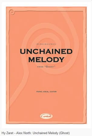 Alex North - Unchained Melody - Film Ghost - Partition - di-arezzo.fr