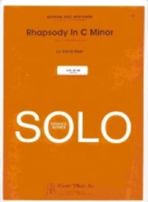 Rhapsody In C Minor - David Uber - Partition - Tuba - laflutedepan.com