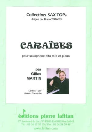 Gilles Martin - Caribbean - Sheet Music - di-arezzo.co.uk