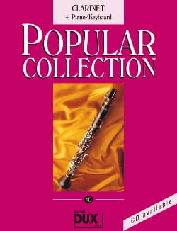 Popular collection volume 10 Partition Clarinette - laflutedepan