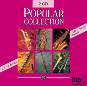 - CD Popular collection volume 10 - Partition - di-arezzo.fr