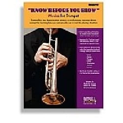 Know Before You Blow - Trumpet - Sheet Music - di-arezzo.co.uk