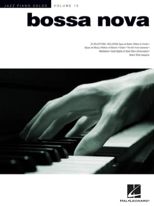 - Jazz Solos Piano Volume 15 - Bossa Nova - Sheet Music - di-arezzo.co.uk