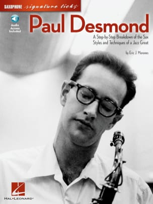 Paul Desmond - Paul Desmond Saxophone Signature Licks - Partition - di-arezzo.fr