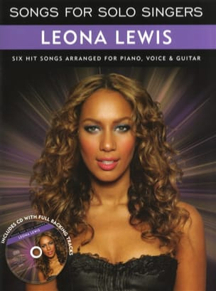 Songs For Solo Singers Leona Lewis Partition Pop / Rock - laflutedepan