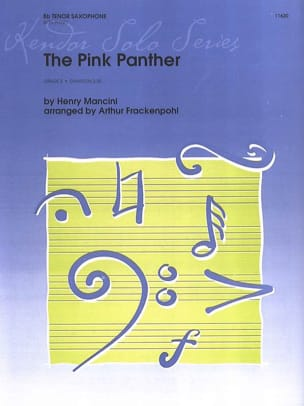 Henry Mancini - The Pink Panther - Partition - di-arezzo.com