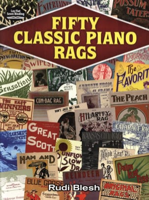 Fifty Classic Piano Rags - Partition - Jazz - laflutedepan.com