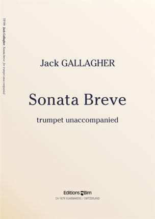 Sonata Breve Jack Gallagher Partition Trompette - laflutedepan