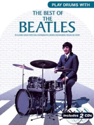 BEATLES - Play Drums With - The Best Of The Beatles - Partition - di-arezzo.fr