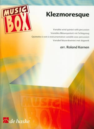 Roland Kernen - Klezmoresque - music box - Sheet Music - di-arezzo.com