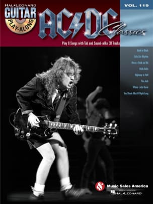 AC-DC - Guitar Play-Along Volume 119 - AC/DC Classics - Sheet Music - di-arezzo.co.uk